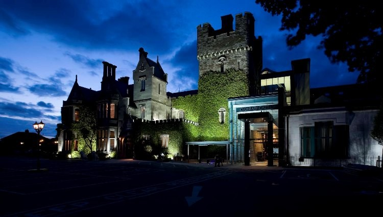 Clontarf Castle Night View